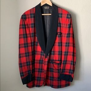 Amazing Tartan Smoking Jacket
